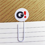 BIG MESSAGE PAPER CLIP