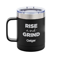 BASECAMP® ZION MUG WITH RISE AND GRIND IMPRINT